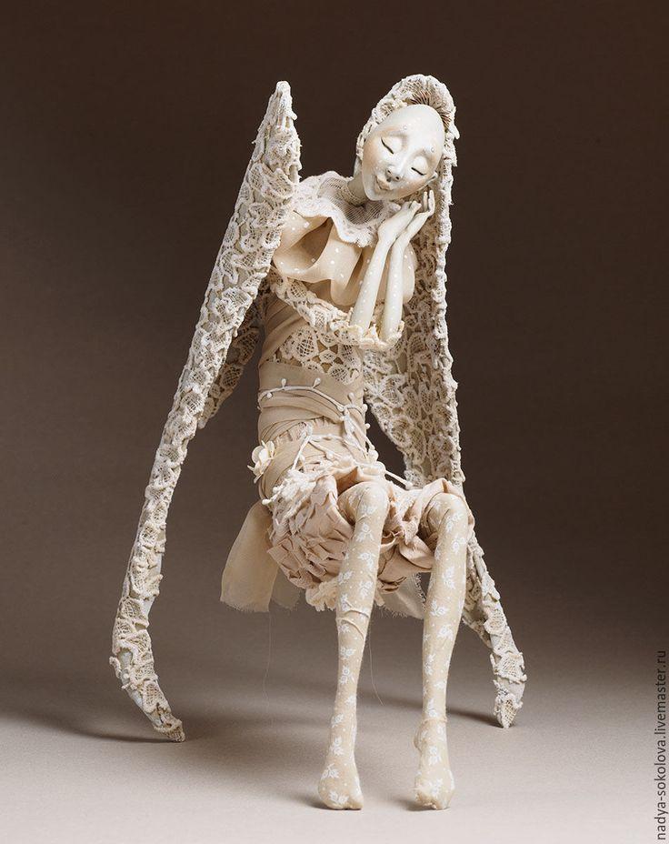 Магазин мастера Соколова Надежда: фантазийные сюжеты, коллекционные куклы, картины цветов, натюрморт, пейзаж