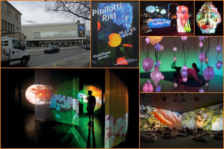 Pipilotti Rist, Kunsthaus Zürich, 26. 2. - 8. 5. 2016