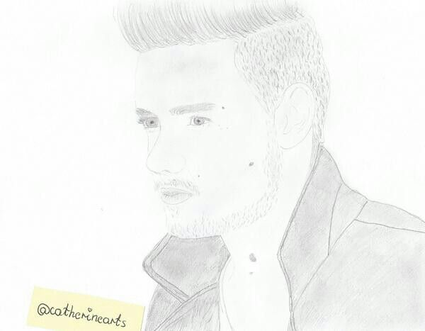 Drawing of Liam Payne :)