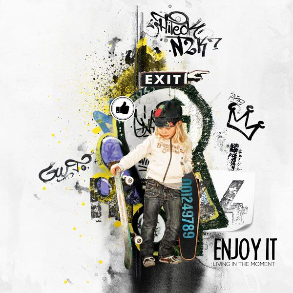 "kit ""Boy's rule"" by Natali designs http://shop.scrapbookgraphics.com/Boy-s-rule-Bundle.html Photo by Henulka"