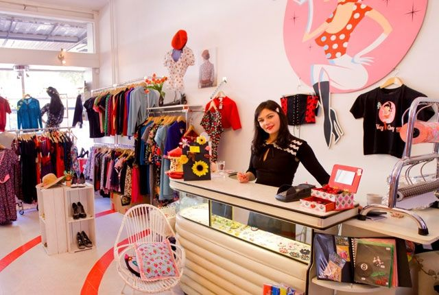 Cherry clothing store
