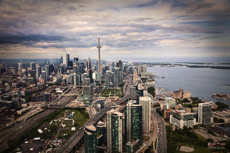 Cloudy Toronto shot