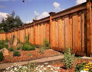 25 best redwood fences images on pinterest wood fences backyard humboldt redwood fences are durable and beautiful workwithnaturefo