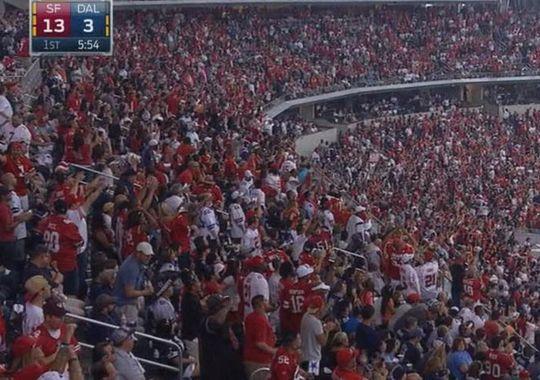San Francisco 49ers Fans Looking to 'White-Out' University of Phoenix Stadium Sunday | FatManWriting