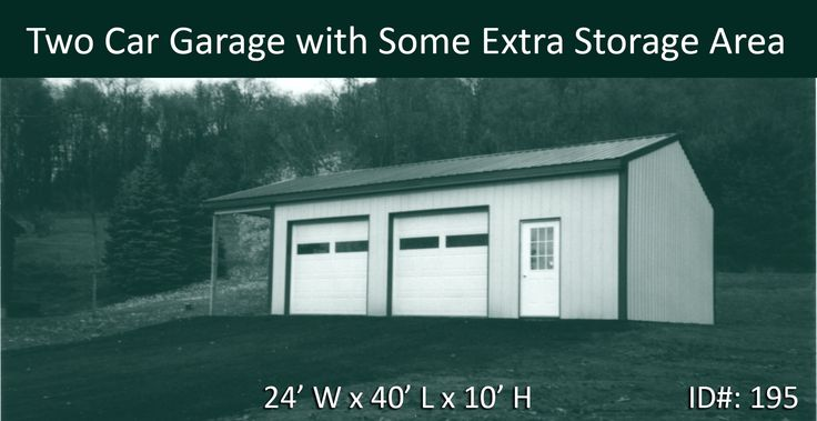 108 best images about two car garages on pinterest for 12 x 10 garage door price