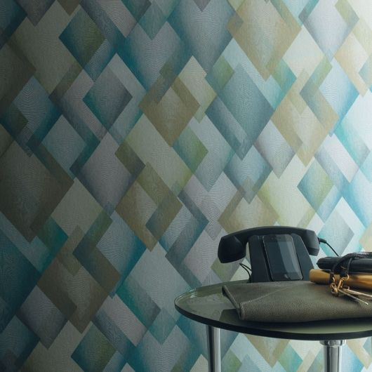 Dandy Casamance Wallpaper (source Casamance) Fabric Wallpaper Australia / The Ivory Tower