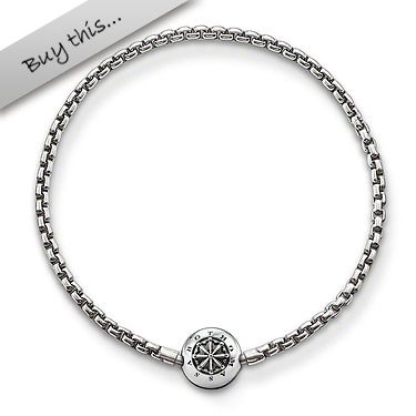 #THOMASSABO #promotion: You will receive a free stone bead worth 19,00 EUR when purchasing this Karma Beads bracelet. (Offer valid until March 31, 2014)