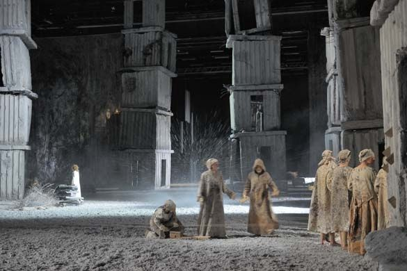 Spectacle of dust: Anselm Kiefer marks 20 years of the Bastille Opera
