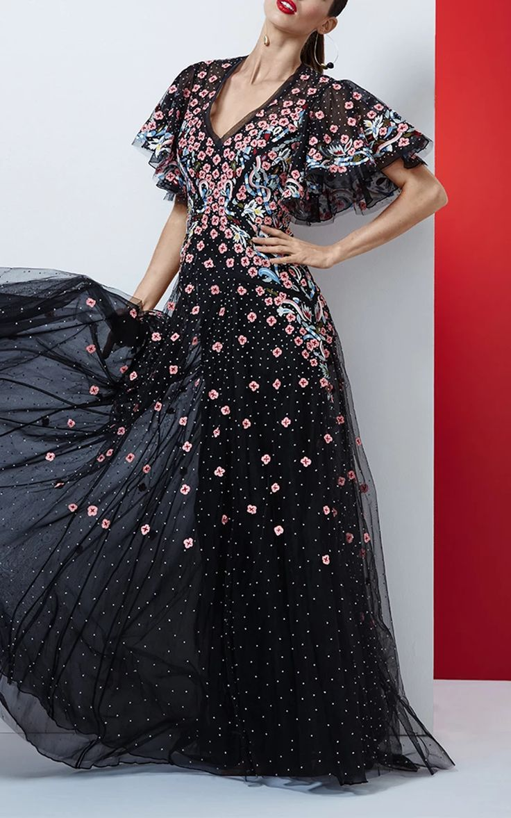 Alvida Gown by RACHEL GILBERT for Preorder on Moda Operandi