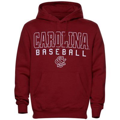 South Carolina Gamecocks Frame Baseball Hoodie - Garnet