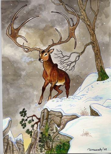 Big Irish Elk By Dianakennedy Jpg 364 215 503