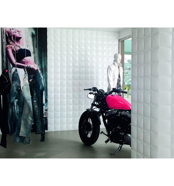 Dekoration - Kakelmonster | White Pad 30x60