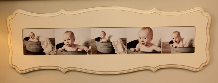 Series of Artworks Tulsa Photography baby portraits framed by The Organic Bloom