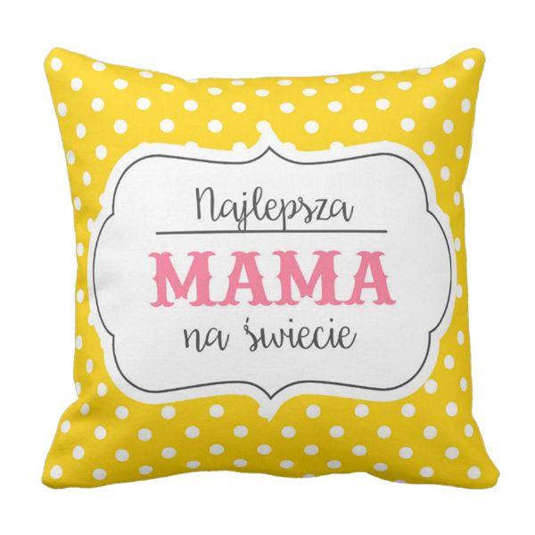 Poduszka Najlepsza MAMA NA ŚWIECIE Dzień Matki pod-6249 | Poduszki \ Dzień Matki Poduszki \ Dzień Matki | Tytuł sklepu zmienisz w dziale MODERACJA \ SEO