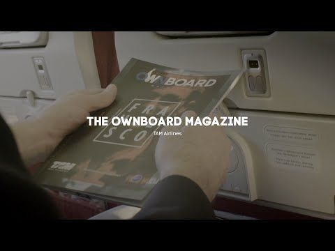 TAM Airlines Creates the Most Personalized Ownboard Magazine