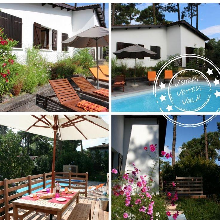 62 best villa rentals in aquitaine france images on pinterest - Villa cosy bordeaux ...