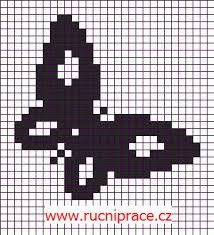 תוצאת תמונה עבור small butterfly cross stitch pattern free