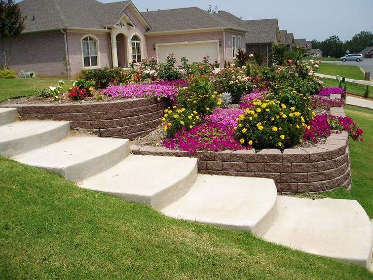front yard slope