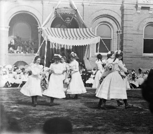 Miss Wolcott's School in Denver, Colorado  c1900-1910