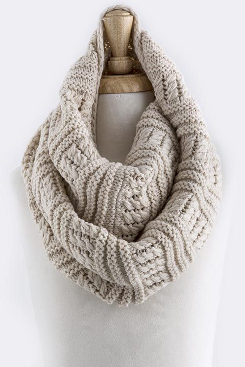 Claire Infinity Scarf on Emma Stine Limited