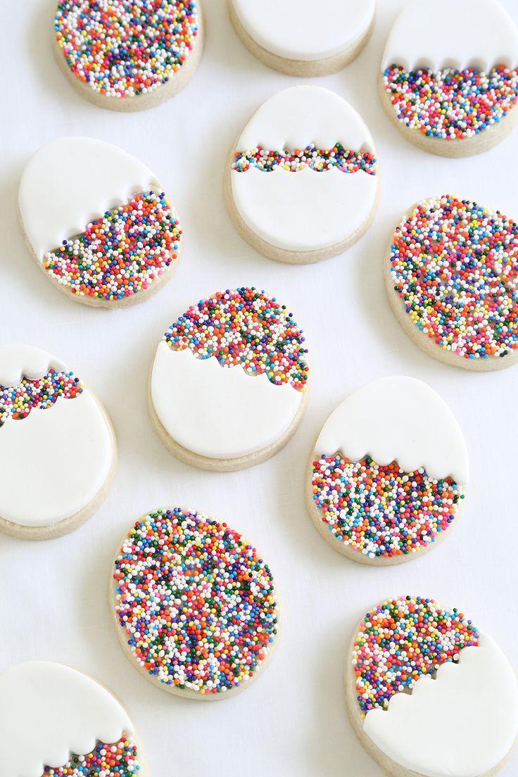 Egg Sprinkle Cookies