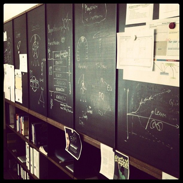 Idea-Board at HM Office.