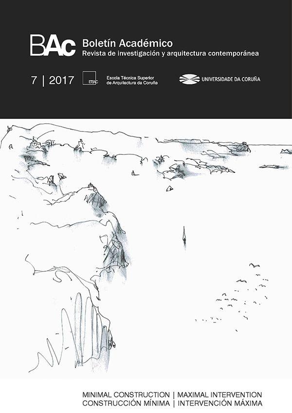 Boletín Académico [Recurso electrónico] : revista de investigación y arquitectura contemporánea. Nº 7 - 2017. Sumario e texto completo: http://revistas.udc.es/index.php/BAC/issue/view/bac.2017.7.0/showToc  Na biblioteca: http://kmelot.biblioteca.udc.es/record=b1468515~S1*gag