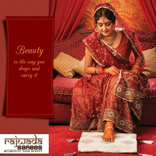 Beauty is something which comes from your soul when you wear luxury. Rajwada Sarees gives you a shopping platform where you will get all kind of luxurious sarees for different occasion.