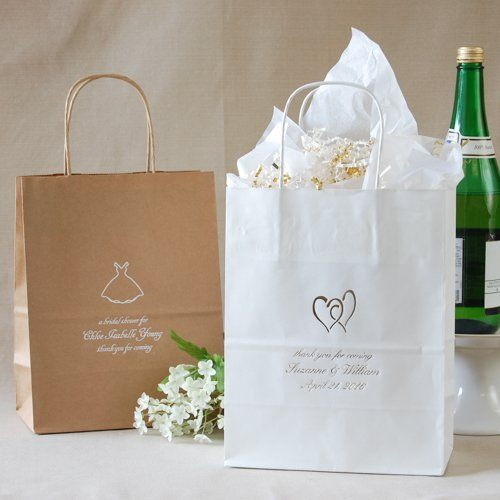 Personalized Wedding Gift Bags by Beau-coup