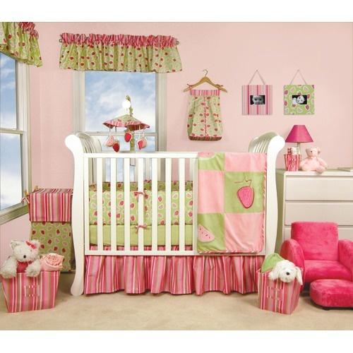 Trend Lab Juicie Fruit 4 Piece Crib Bedding Set | WayfairCribs Dust, Piece Cribs, Crib Bedding Sets, Buy Cribs, Cribs Beds Sets