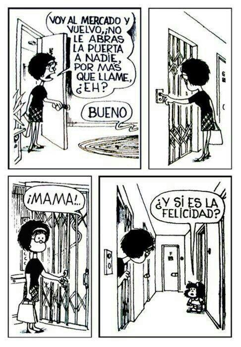 #mafalda #felicidad