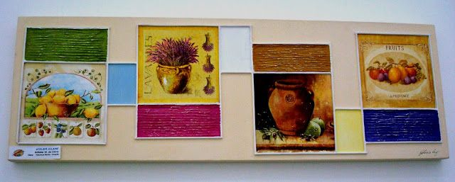 Atelier de Arte Julainne: Decoupage sobre tela