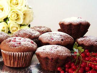 receptyywett : Kakaové muffiny s ríbezľami