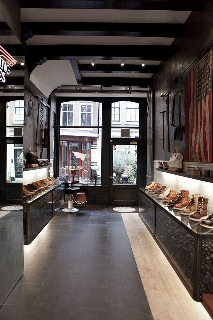 Red Wing Shoes Store, Amsterdam