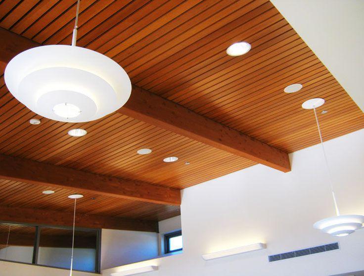 Wood Ceiling Panels | Wooden Suspended Ceiling U2013 AQUA CALIENTE MUSEUM U2013  Getech Ceiling ... | Ceiling Project | Pinterest | Wood Ceiling Panels,  Ceiling ...