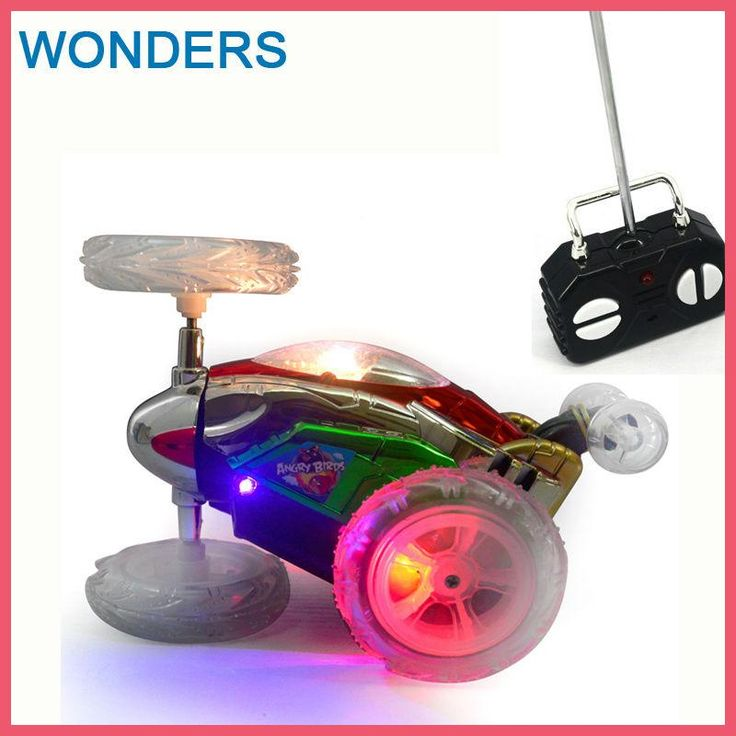 Funny Mini RC Car Remote Control Toy Stunt Car Monster Truck Radio Electric Dancing Drift Model Rotating Wheel Vehicle Motor