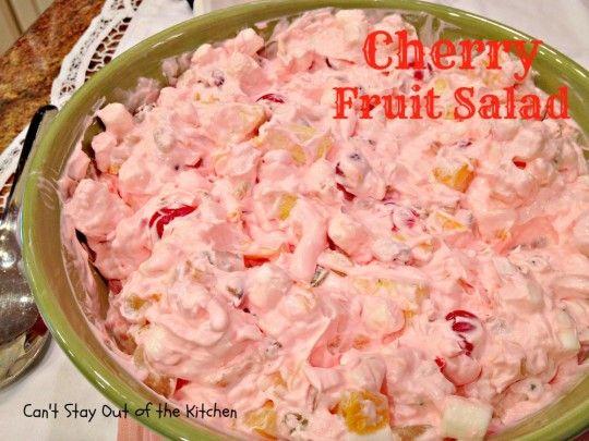 Cherry Fruit Salad - Recipe Pix 10 074