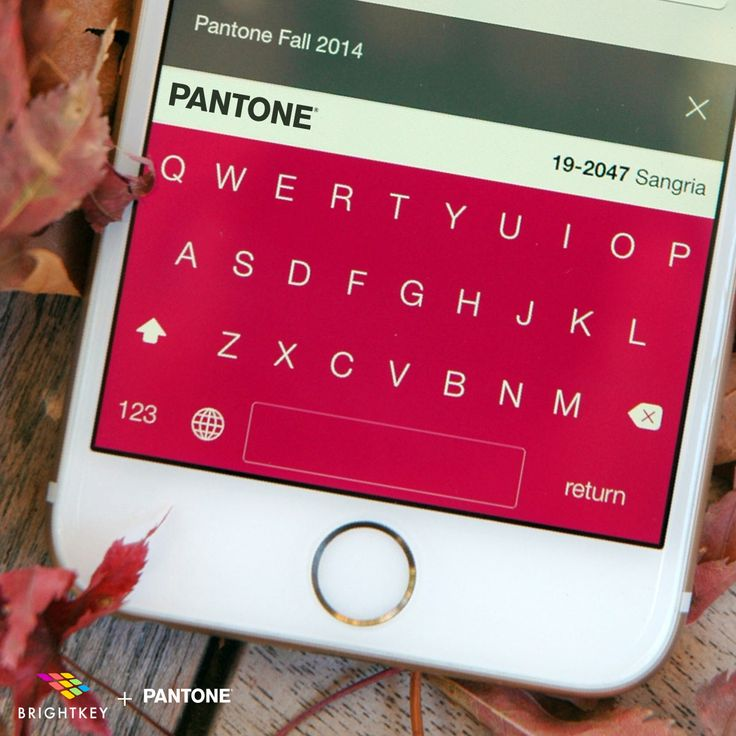 Pantone and Brightkey joined forces to launch colorful, Pantone-inspired keyboards for your Apple devices.