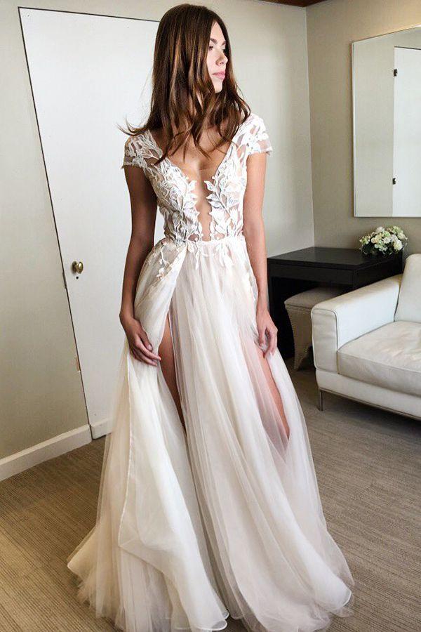 Best 25 White Prom Dresses Ideas On Pinterest
