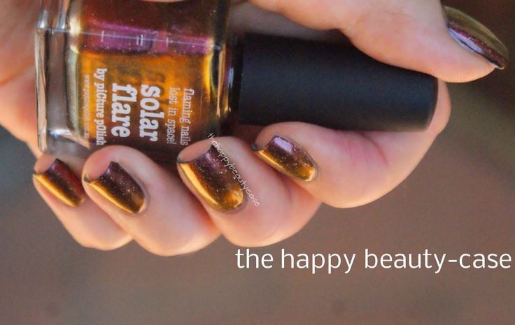 The Happy Beauty Case: [Holothon 2.0] piCture pOlish Solar Flare