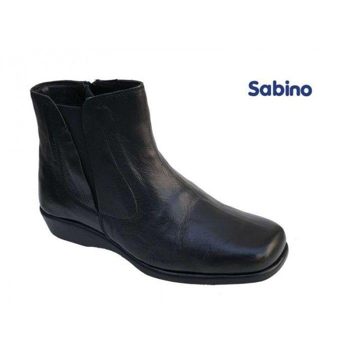 Sabino 241 Μαύρο δέρμα