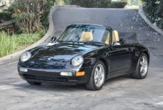 1996 Porsche 911 Carrera 4 Cabriolet 6-Speed