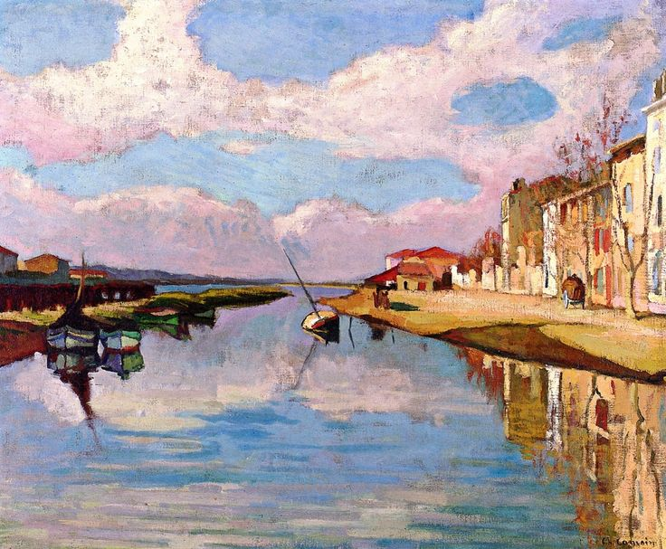 dappledwithshadow: Canal at Martigues Charles Camoin, 1904