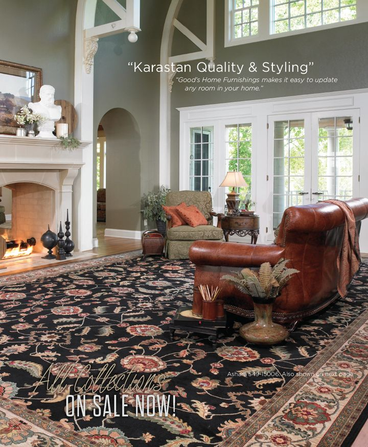 Luxury homes in Charlotte NC deserve the best. Choose from a fine selection of quality, well made rugs by Karastan.