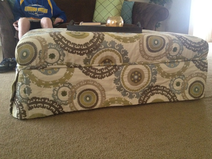 Ottoman that I recovered.