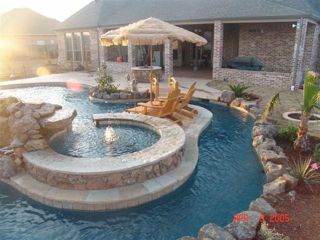 Cool Pools With Slides 455 best images about poolside on pinterest | swimming pool