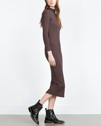 STRICKKLEID  zara  Pinterest  Maxis, Womens dresses und Zara