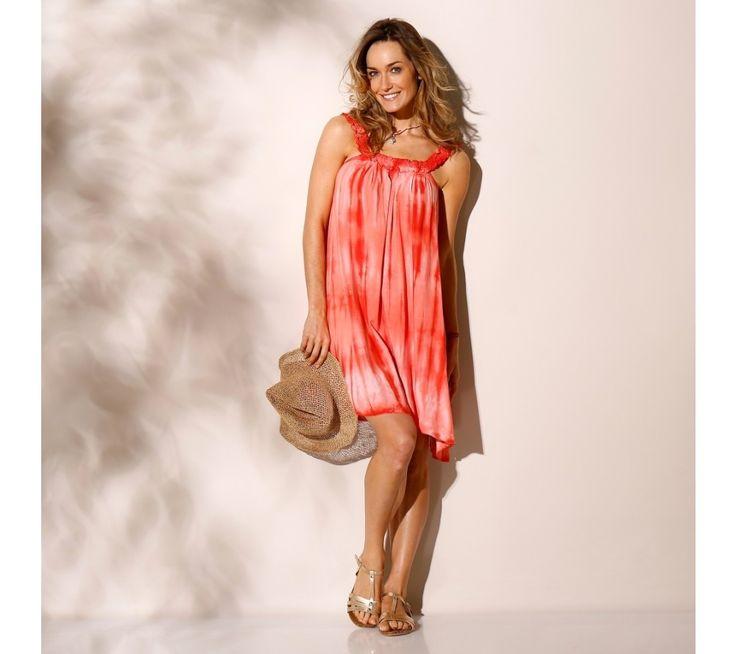 Šaty s potlačou batiky | blancheporte.sk #blancheporte #blancheporteSK #blancheporte_sk #dress #saty