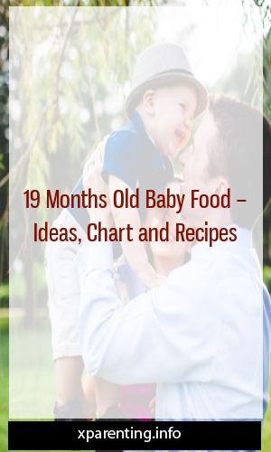 Aliments pour bébés âgés de 19 mois – Idées, diagrammes et recettes #maternité #traternitétrend …  – Parenting Talk
