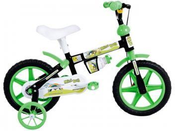 Bicicleta Infantil Houston Mini Boy Aro 12 - Freio Tambor Dianteiro